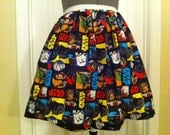 Licensed Star Wars fabric full skirt - made to order