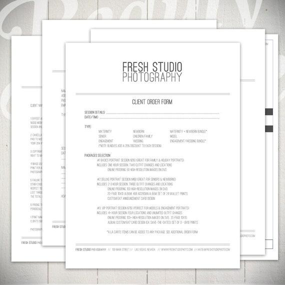 Photography Marketing Templates Fresh Studio Marketing Set