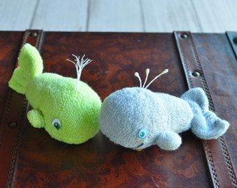Baby Sock Whale PDF and Instructional Video