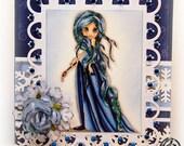 Handmade Greeting Card - Winter Princess