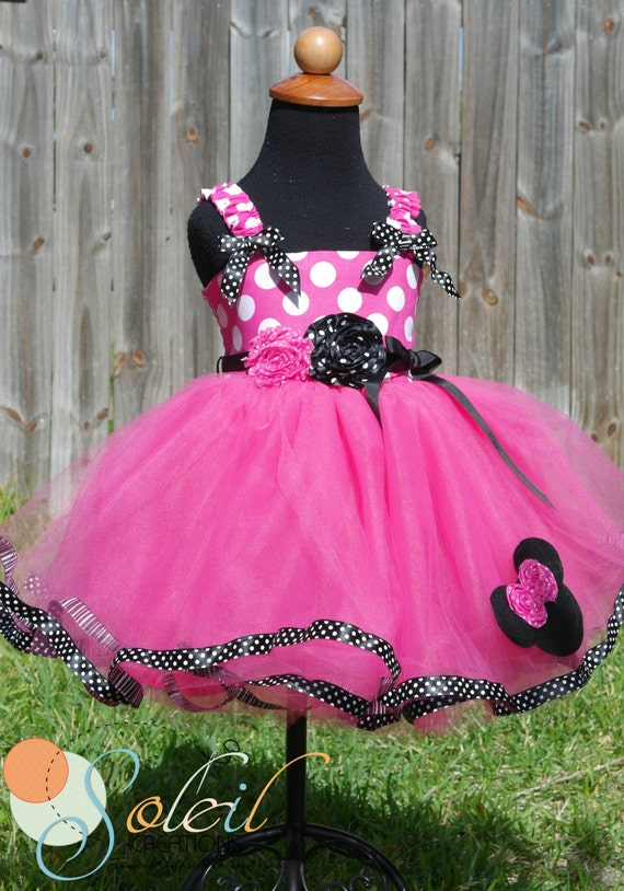 Minnie mouse dress baby toddler birthday