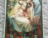 Vintage 1922 Sleeping Beauty Fairy Tale  Art Nouveau Edwardian Calendar Booklet Italy
