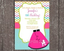 Stationary and Party-Tags-50's Party Collection-Casbury Lane