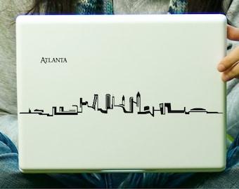 Atlanta Skyline Sticker Decal Laptop Decal iPad