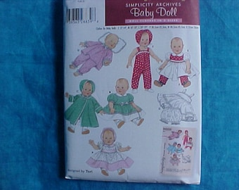 Simplicity 4707 Archives Baby Doll Pattern.