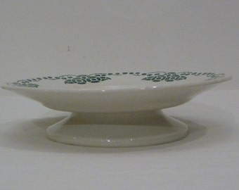 French ceramic compote