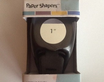 1 Inch Round Punch by Paper Shapers EK Success