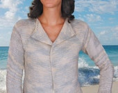 Casual Cardigan to Knit PDF Pattern Instant Download