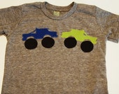 Monster Truck tshirt Boys truck shirt