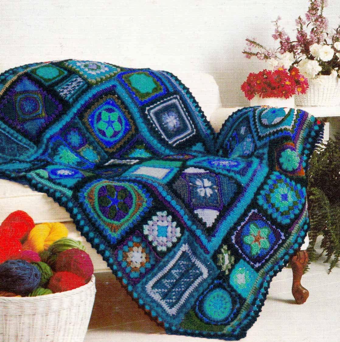 Rainbow Granny Square Blanket Pattern Granny Square Blanket