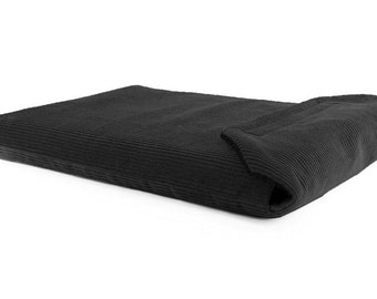 MacBook Pro Cover 13 inch 13.3 Sleeve Case Padded- Black Corduroy