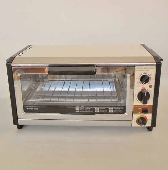 Countertop Oven Made In Usa : Panasonic Toaster Oven 1980s Kitchen Made in Japan NT-86OU (used)