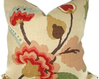 Schumacher Khantau Tree Decorative Pillow Cover Accent Pillow - Throw pillow