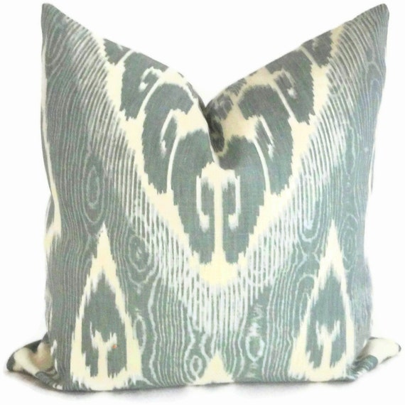 Sage Green Throw Pillow Covers : Sage Green Kravet Decorative Pillow Cover 18x18 20x20 by PopOColor