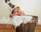 Crochet Clown set phot prop
