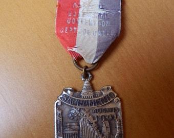 1941 Sacramento Convention American Legion Medal