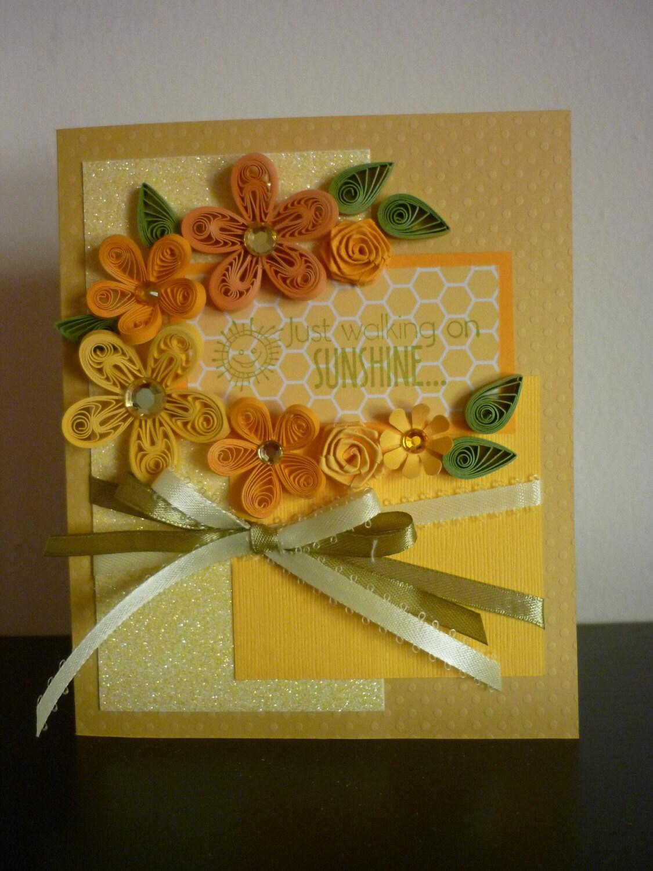 Желтая открытка своими руками, открытки братишке