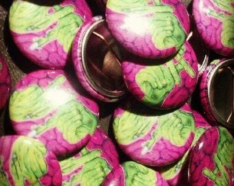 L.A Zombie - 1in Button