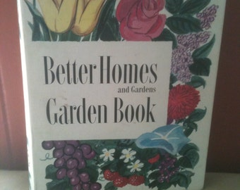 Vintage Gardening Book BH&G 1954 second edition