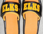 Customized Team or School Name Slide Sandals