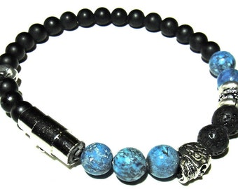 2HEAD- Mens beaded bracelet