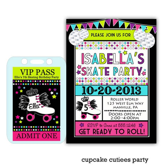 Neon Skates Ticket VIP package PaRtY PaCk by ...