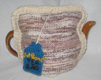 Tea Bag Tea Cosy - KNITTING PATTERN - pdf file by automatic download
