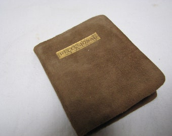 """Victorian Leather Book , """"Recessional"""" , Miniature Poetry Book"""