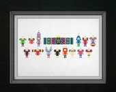 Katamari Damacy Cross Stitch Pattern