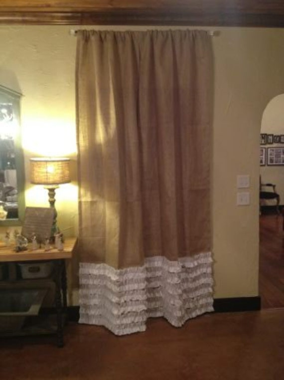 Curtains Ideas » Burlap Curtain Panels - Inspiring Pictures of ...