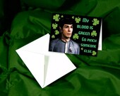 Vulcan Style St. Patrick's Day Card