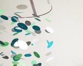 The Mediterranean Cirle Mobile / / / Nursery Decor, Photo Prop, Baby Shower Gift, Crib Mobile