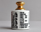 Fornasetti Paperweight - There is a Measure in all Things - Made in Italy