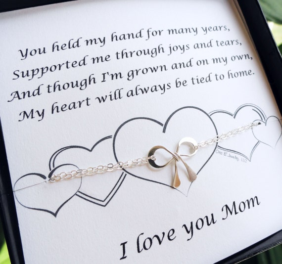 Wedding Gifts For Mom From Bride : ... with card, Wedding gift for Mom, Mothers Day Gift, Mothers Day ...