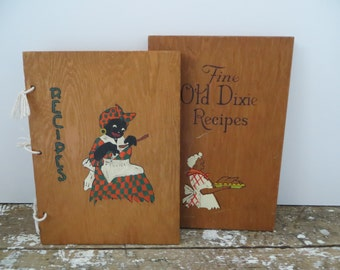 Fine Old Dixie Recipes Cookbook Black Americana Collectibles Southern Cookbook