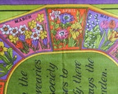 There is always something blooming There is Always the Garden by Julia Clements Irish Linen from Ulster