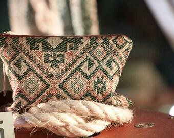 Aztec Tapestry Clutch