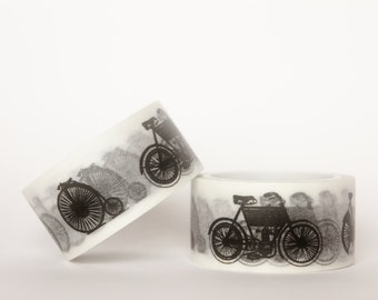 MINI 5M Vintage Bicycles Washi Tape