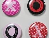 Push Pins or Magnets - XOXO