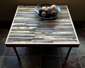 40% Off SALE - Barnwood Coffee Table - Industrial - Mid-Century - Modern - Contemporary - Rustic Zen