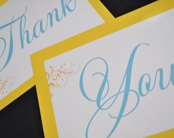Wedding THANK YOU Signs..photo props