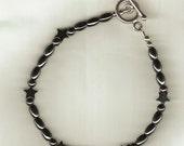 Hematite bracelet with Stars