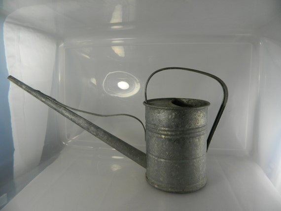 Watering Can Vintage Galvanized Watering Can