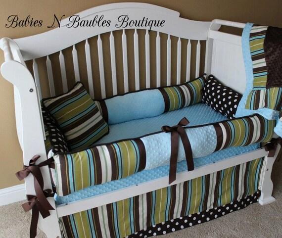 Custom Baby Bedding Gideon Custom Baby Bedding Crib Set 6
