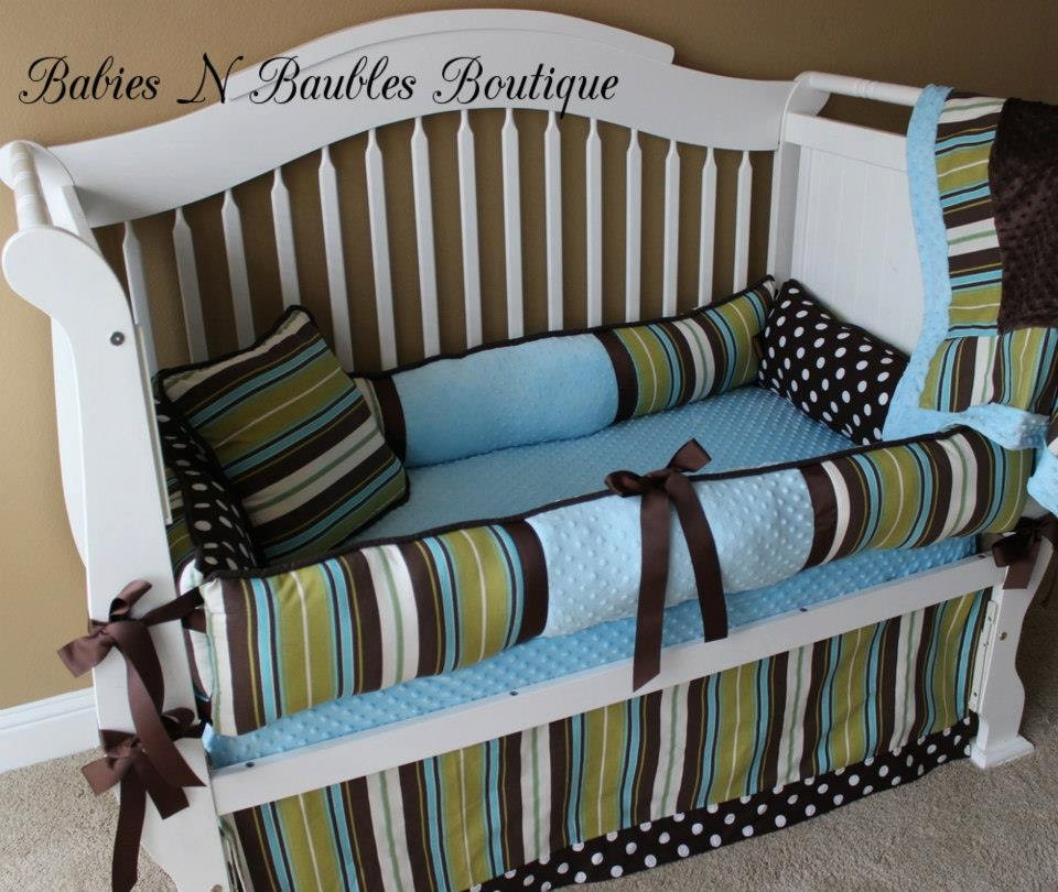 gideon custom baby bedding crib set 6 pc set
