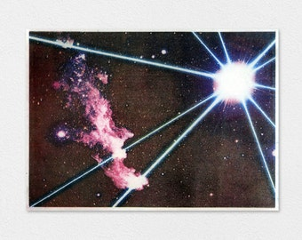 Laser Blast Polyester Lithograph 8x10