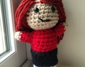 Doctor Who - Amy Pond - inspired by Karen Gillan - Plush