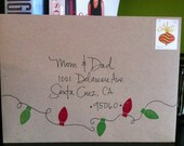 Hand Addressed Wedding Envelopes - For Melissa