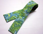 Camera Strap Cover CLEARANCE SALE - Blue and Green - Colors of Spring - Beautiful Strap