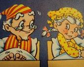 Vtg. Unused Anniversary Card Novo Laugh